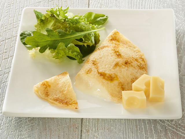 Crêpe fromage demi-lune 50g