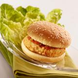 Chicken burger cuit