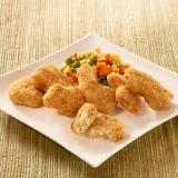 Nuggets de blé croustillants cuit