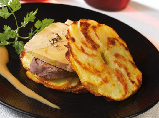 recettes millefeuille de filet de boeuf au foie gras. Black Bedroom Furniture Sets. Home Design Ideas